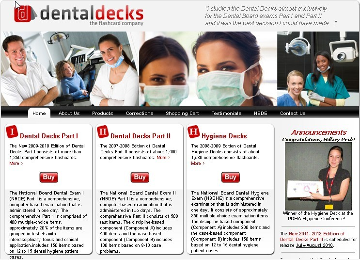 Dental Decks Home Page